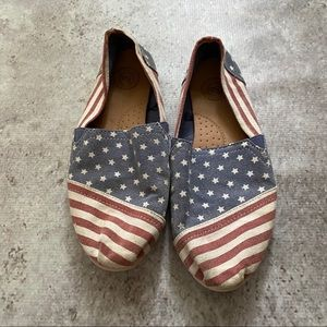 SO Shoes - American Flag Shoes
